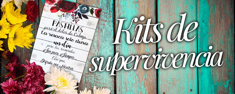 Kits de supervivencia