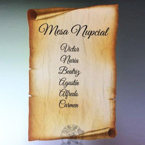 Detalles de boda en papel