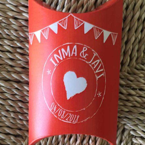 Caja para kit de resaca bodas