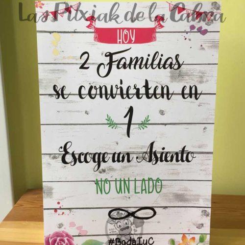 Cartel dos familias se convierten en una infinito