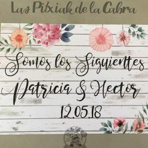 Diploma para los siguientes en casarse con nombres de novios