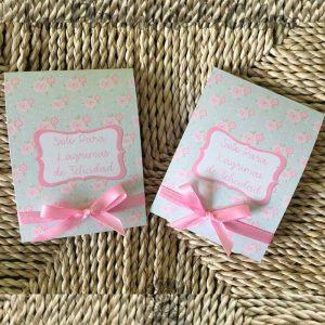 Pañuelos para lágrimas de felicidad de bodas románticas