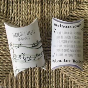 Cajitas de arroz musicales