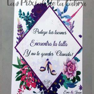 Tacones Cartel para bodas