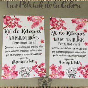 Carteles para los baños en bodas bonitas