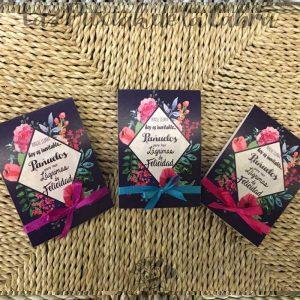 Pañuelos para tus lágrimas de felicidad con lacitos de colores