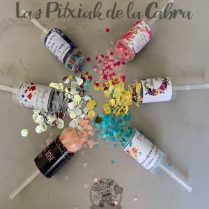 Pop up de confeti para bodas mixto
