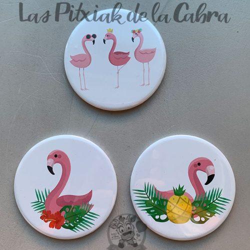 Espejitos para detalles de boda flamencos