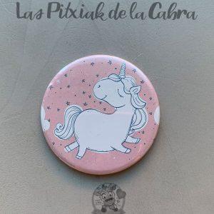Espejitos para detalles de boda unicornio rosa