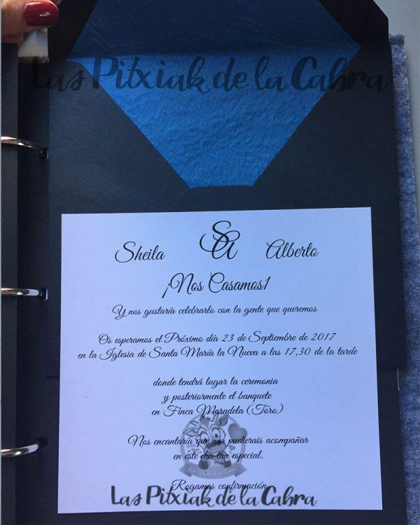 Invitaciones de boda clásica
