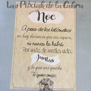 Diploma para las mejores amigas de la boda