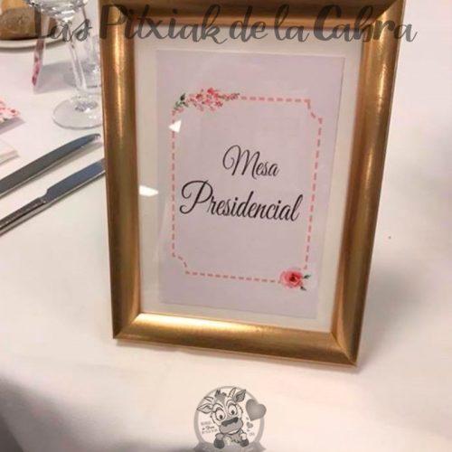 Meseros para bodas mesa presidencial