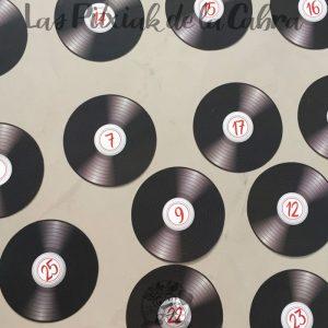 Meseros discos de vinilo