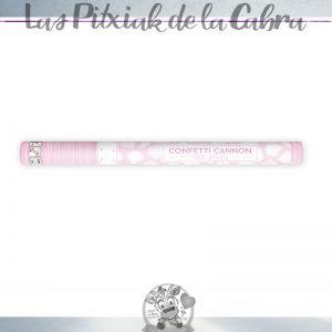 Cañón de confeti de pétalos de boda