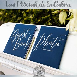Libros para bodas guest book y photo