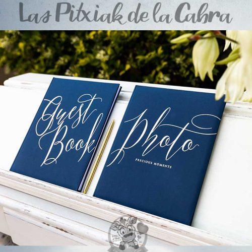 Libros para bodas guest book y photo