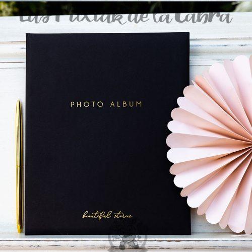 Libro negro photo álbum
