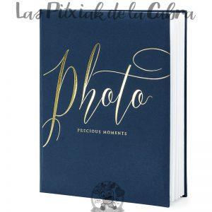 Libro de fotos de boda firmas