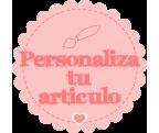 Personaliza tu artículo