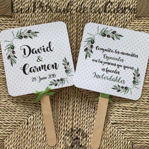 Pai Pai para bodas olivo