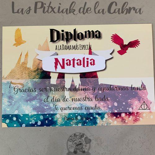 Diploma Harry Potter